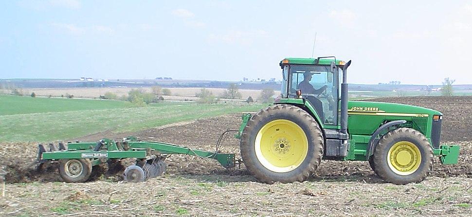 JDTractor chisel-plough