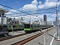 JRE E235 Yamanote Line Takanawa Gateway Station 2020-03-16.jpg