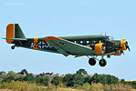JU-52 Tantu - Flying Legends Duxford 2015 (19631073255).jpg