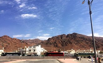 Battle of Uhud - Image: Jabal e Uhud