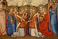 Jacopo di cione e bottega, altare di san pier maggiore, 1370-71, 03 angeli musicanti.jpg