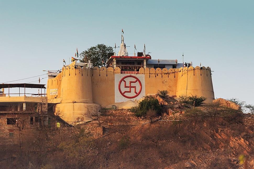 Jaipur 03-2016 38 Garh Ganesh Temple