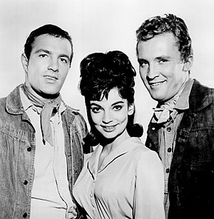 "Death Valley Days - James Caan, Karyn Kupcinet and Roy Thinnes in episode ""Shadow of Violence"" (1963)"