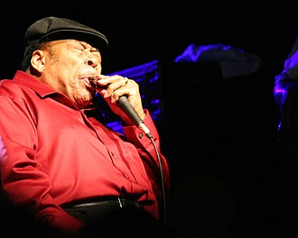 James Cotton - Cotton performing in 2008