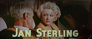 Jan Sterling - Sterling in The High and the Mighty
