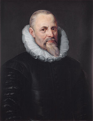 Jan Moretus - Jan Moretus, portrait by Peter Paul Rubens