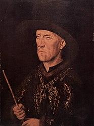 Jan van Eyck: Portrait of Baudouin de Lannoy