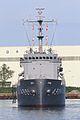 Japan Maritime Self Defence Force JS Hiuchi, AMS-4301 at Niigata east Port.jpg