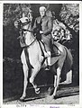 Jawaharlal Nehru on horseback in Achkan and chooridar.jpg