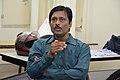 Jayanta Nath Talks - West Bengal Wikimedians Strategy Meetup - Kolkata 2017-08-06 1707.JPG
