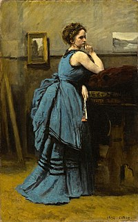 Jean-Baptiste-Camille Corot - Lady in Blue - WGA5304.jpg
