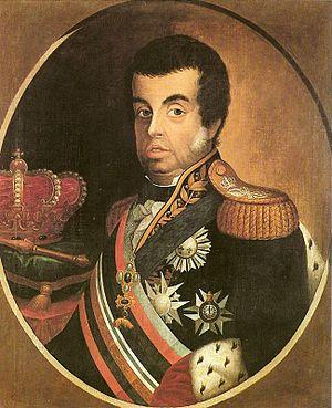 Sash of the Three Orders - Image: Jean Baptiste Debret Retrato de Dom João VI