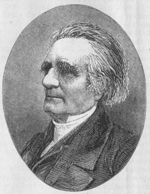 Jean-Henri Merle d'Aubigné - Engraving of Merle d'Aubigné from 1872.