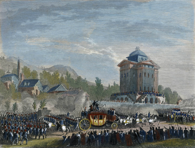 Jean Duplessis-Bertaux, Retour de Varennes. Arrivée de Louis Seize à Paris, le 25 juin 1791.png