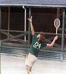 Jeb Bush playing tennis at Kennebunkport circa 1973.jpg