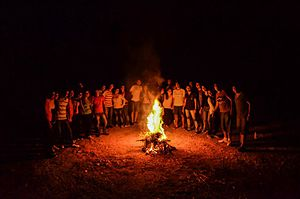 Jeunesse Étudiante Chrétienne - Image: Jecfeude Camps
