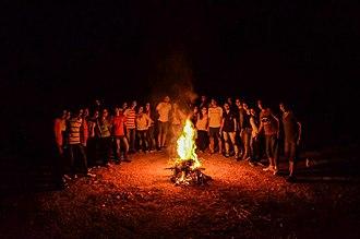 Jeunesse Étudiante Chrétienne - Jec Camping Fire, Property of Jec Syria