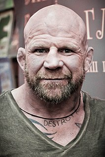 Jeff Monson American mixed martial arts fighter