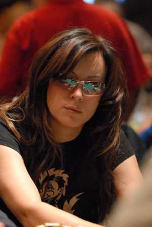 Jennifer Tilly - Tilly at 2007 World Poker Tour