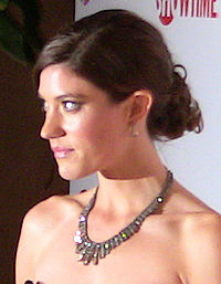 Jennifer Carpenter Golden Globe 2009 afterparty cropped.jpg