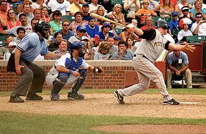 Jeromy Burnitz - Burnitz bats for the Pirates, 2006
