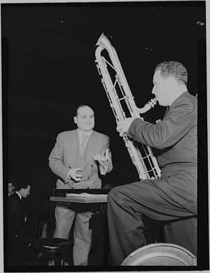 Jerry Gray (arranger) - Jerry Gray on the left