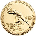 Jesse Owens Congressional Gold Medal (reverse).jpg