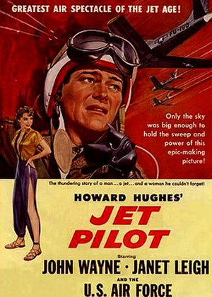 Jet Pilot (film) - Theatrical release poster