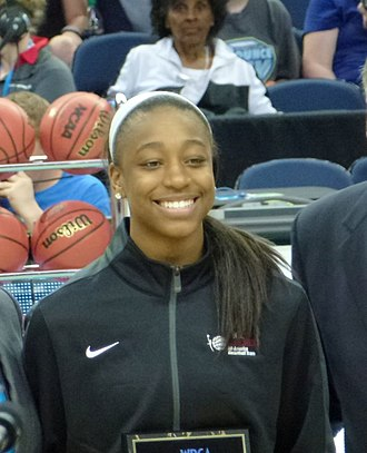 Jewell Loyd - Image: Jewell Loyd All American cropped