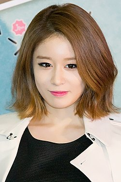 Ji-yeon at Love Jinx vip premiere, February 2014 03.jpg