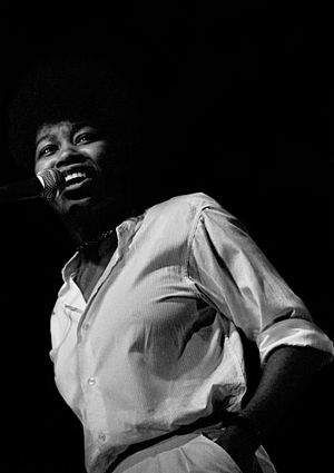 Joan Armatrading - Armatrading in concert in the early 1970s
