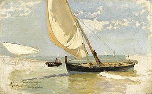 Joaquin Sorolla y Bastida - Estudio de Playa.jpg
