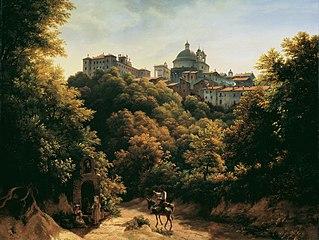 Ansicht von Ariccia