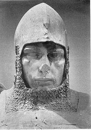Reinhold Felderhoff - Close-up of Johann II, showing damage sustained during World War II