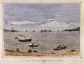 John Edmund Taylor, St. John's Island & the Sisters. From Tanjong Katong Singapore (1879, Wellcome V0037483).jpg