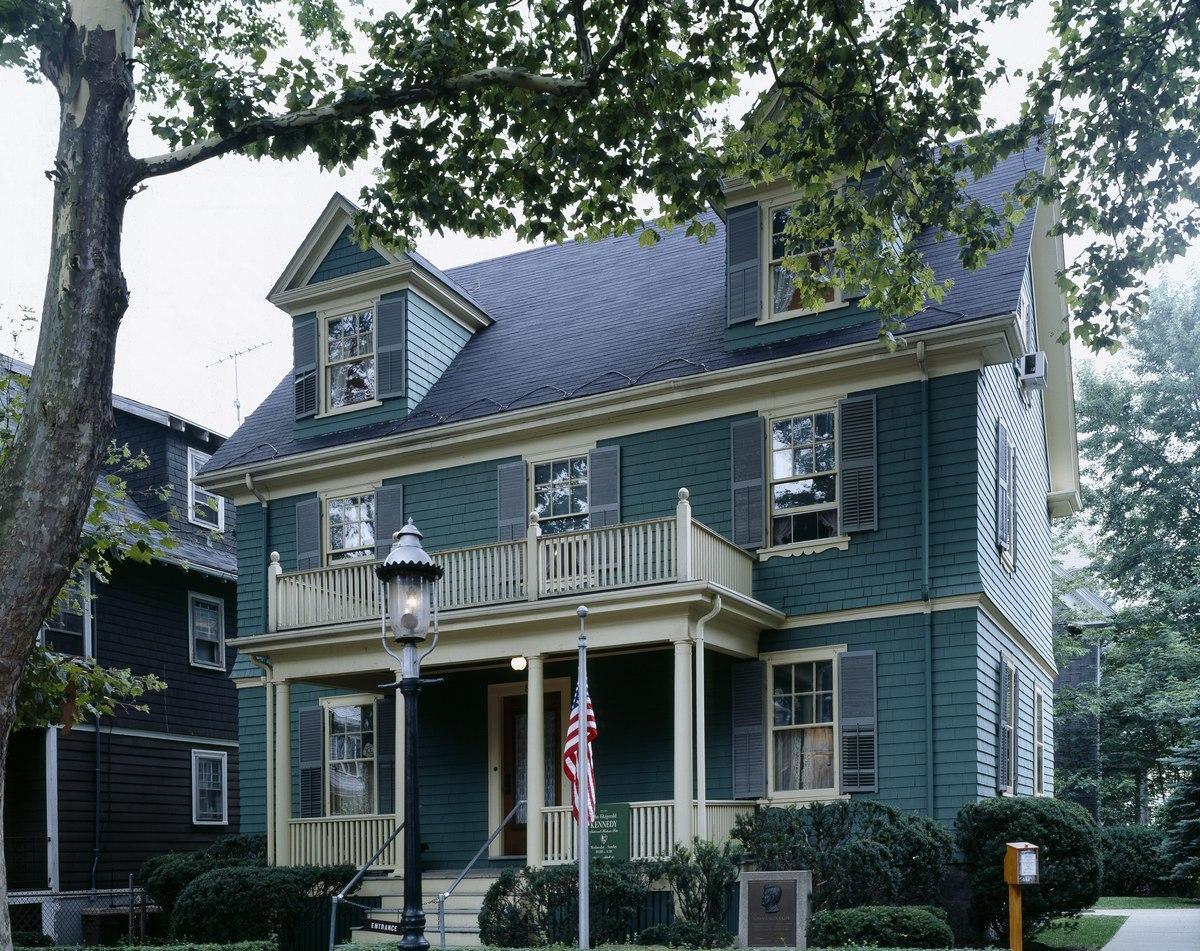 John F. Kennedy home, Brookline, Massachusetts LCCN2011630152.tif