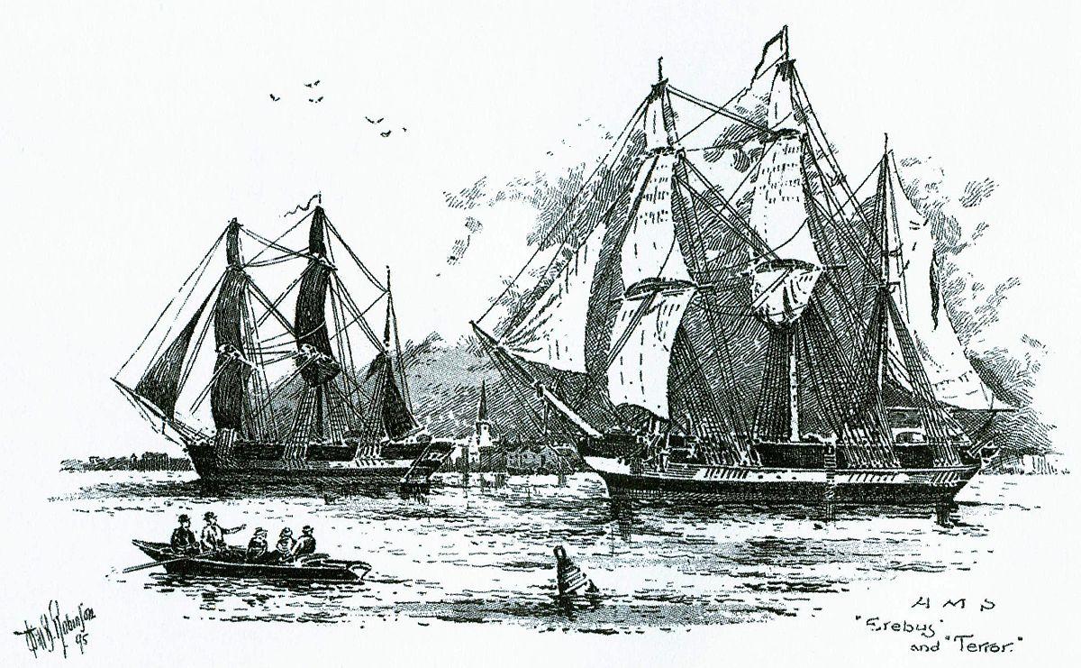 Экспедиция Франклина (1845—1847) — Википедия