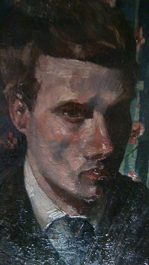 John Quinton Pringle - John Quinton Pringle (self portrait) c.1895