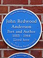 John Redwood Anderson Poet and Author 1883 - 1964 Lived here.jpg