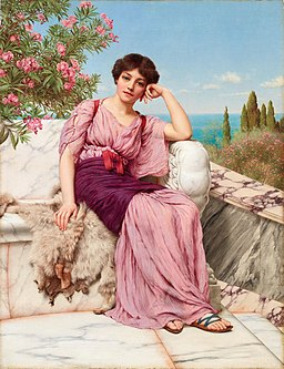John William Godward - Sweet Dreams - c 1901
