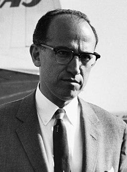 Jonas Salk candid