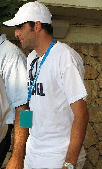 Jonathan Erlich - Erlich in Davis Cup competition