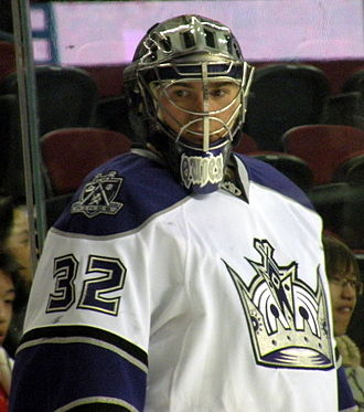 Jonathan Quick - Quick with the Los Angeles Kings in 2009