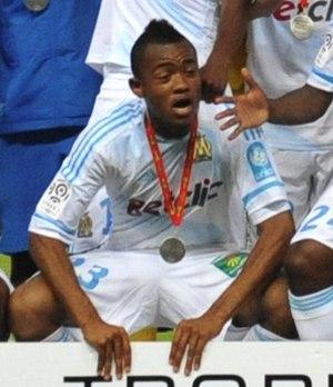 Jordan Ayew - Ayew winning 2011 Trophée des Champions with Marseille