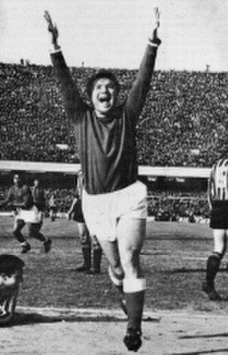 José Altafini - Altafini celebrating for Napoli