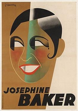 Joséphine Baker par Jean Chassaing.jpg