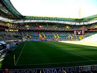 2004–05 UEFA Cup - Image: Jose Alvalade Stadion in Lissabon