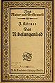 Josef Körner Nibelungenlied 1921 cover.jpg