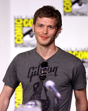 Joseph Morgan (actor) - Morgan at the 2011 Comic Con in San Diego