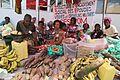 Journée internationale des femmes - Sur cette image, les veuves de militaires exposent des produits agricoles pour exprimer leurs efforts économiques. Photo MONUSCO-Myriam Asmani (25781084936).jpg